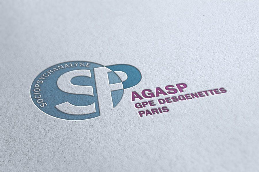 Agasp - Sociopsychanalyse - création de site et d'identité visuelle